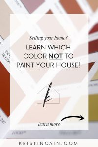 Selling your home? Learn which color NOT to paint your house!